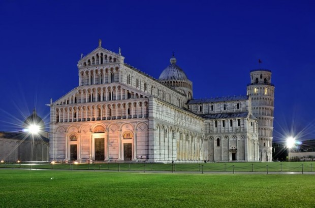 Image for The Cathedral square (The leaning tower)