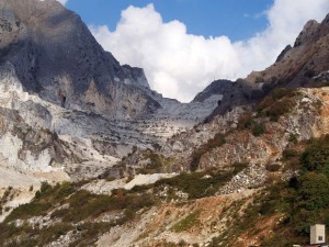 Image for Carrara marble quarries